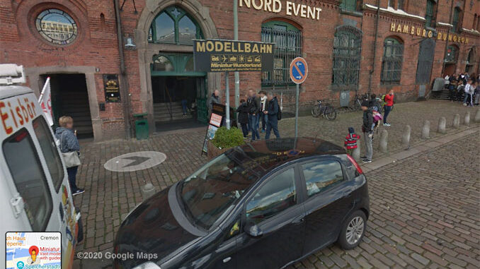Miniatur Wunderland Hamburg, Germany Street View (©2020 Google Maps)